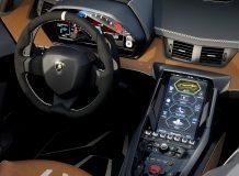 Фото салона Lamborghini Centenario Roadster