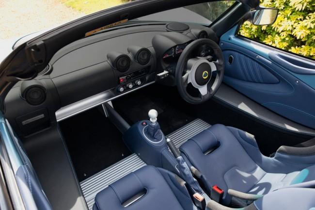 Салон Лотус Элиз 250 SE