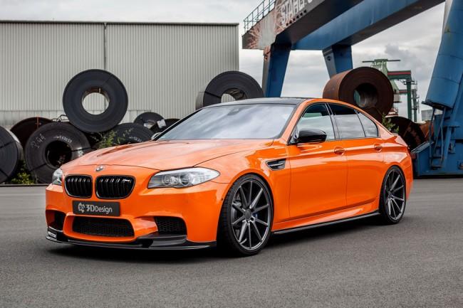 BMW M5 F10 в обвесе от 3D Design