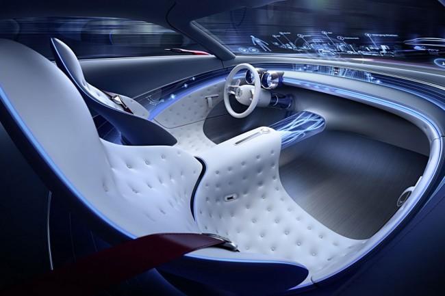 Салон концепта Vision Mercedes-Maybach 6