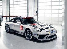 Гоночный Порше 911 GT3 Cup фото