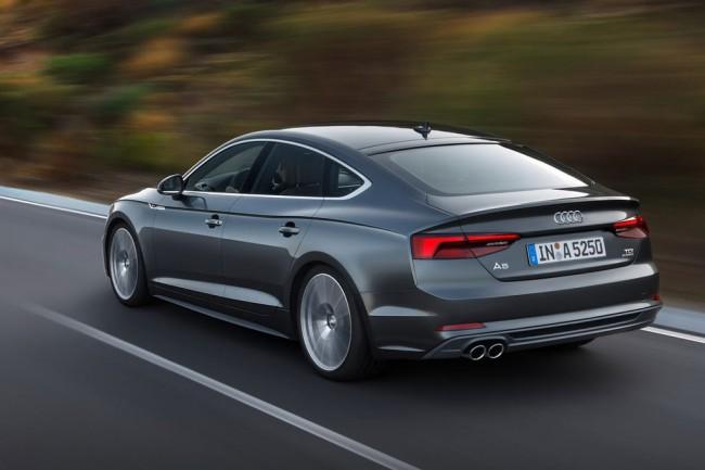 Новая Audi A5 Sportback 2017-2018 года
