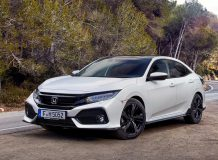 Фото Honda Civic 5D 2017 в новом кузове