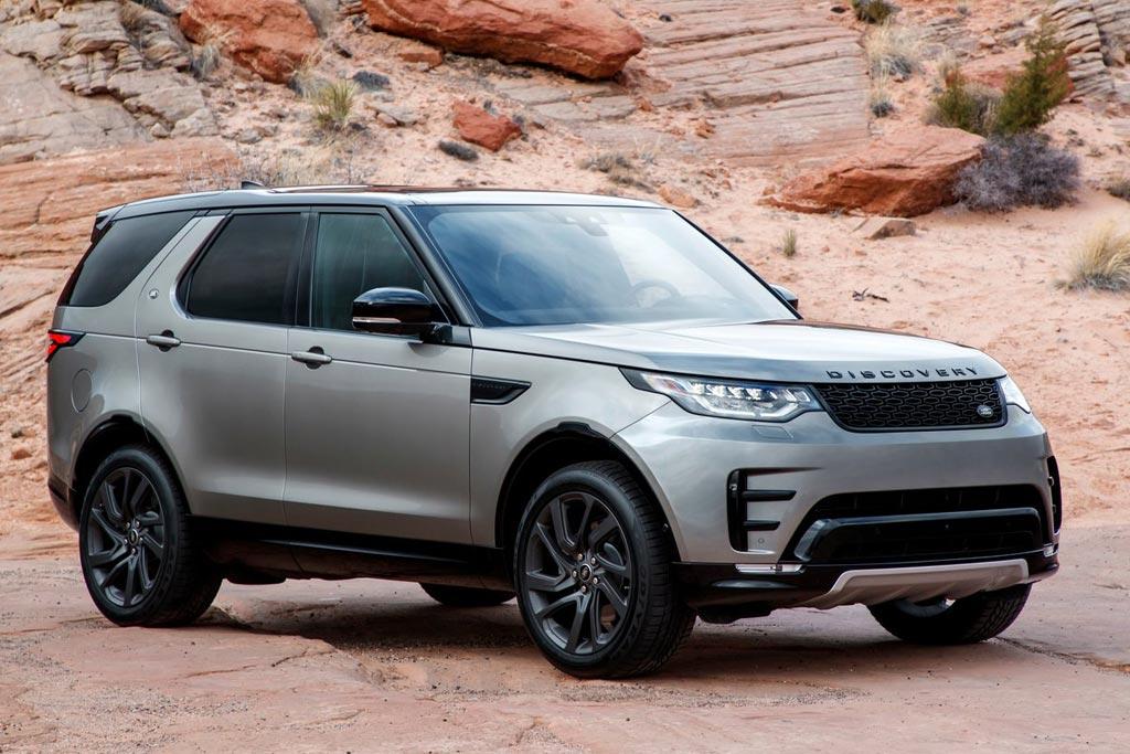 Новый Land Rover Discovery 2019