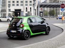 Smart ForFour electric drive фото