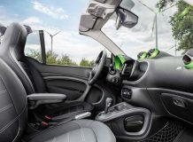 Интерьер Smart ForTwo 3 EV Cabriolet