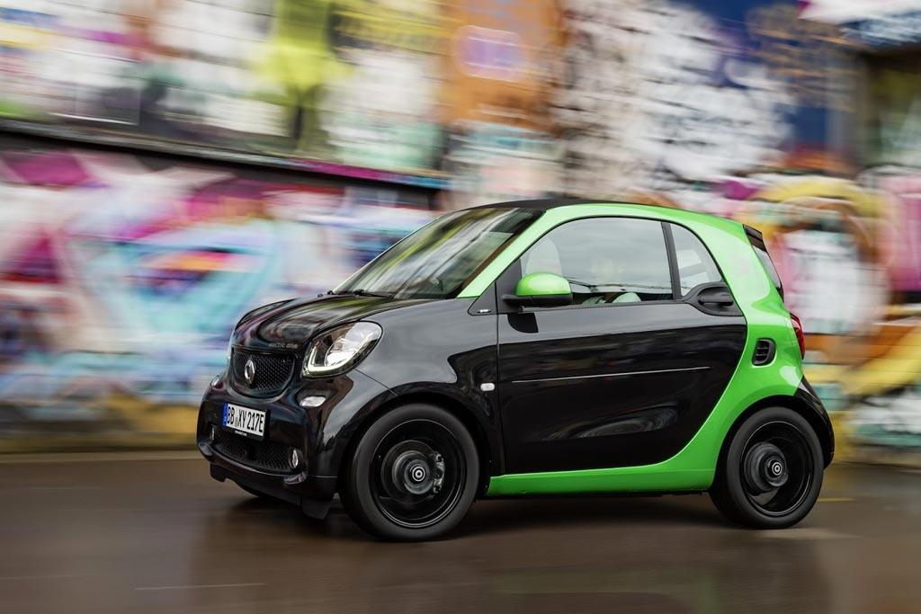 Фото электрического Smart ForTwo 3 EV