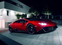 Обвес на Lamborghini Huracan от Novitec Torado