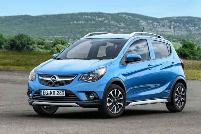 Вседорожный Opel Kark Rocks 2017