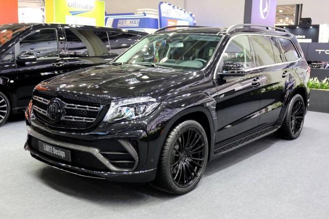 Mercedes GLS Black Crystal от Larte Design