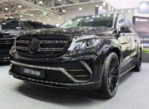 Mercedes GLS в обвесе Black Crystal от Larte Design