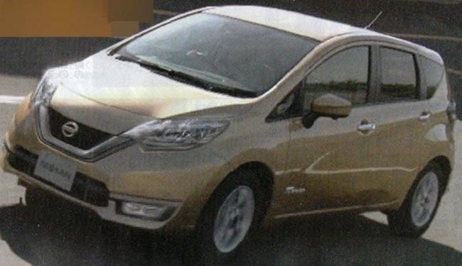 Гибридный Nissan Note e-Power