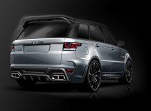 Фото тюнинг Range Rover SVR от Overfinch
