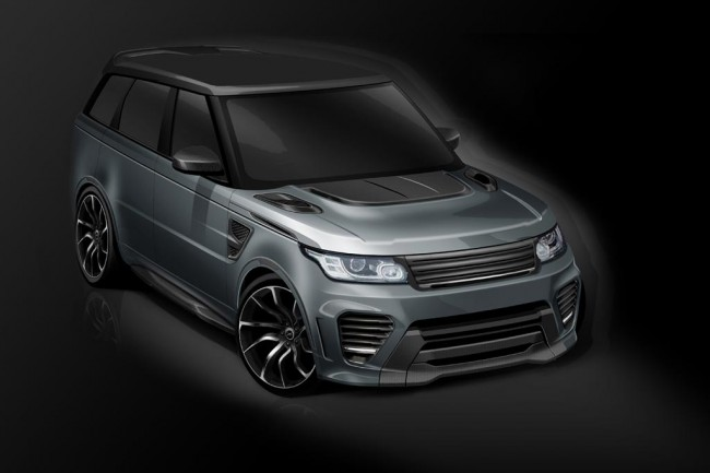 Range Rover Sport SVR от ателье Overfinch