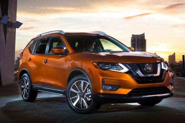 Обновленный Nissan Rouge 2017
