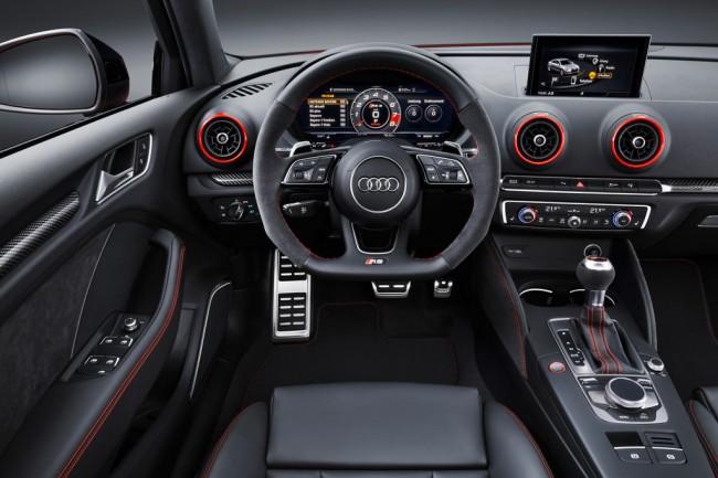 Салон Ауди RS3 седан