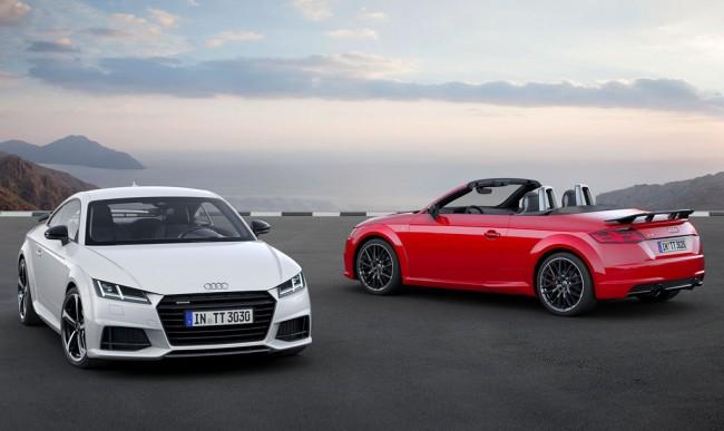 Купе и родстер Audi TT в пакете S line competition