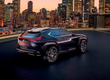 Lexus UX Concept фото