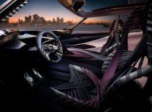 Фото салона Lexus UX Concept