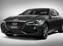 Фото нового Genesis G70 2017