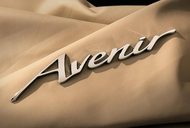 Логотип Avenir