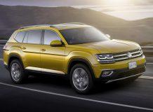 Фото Volkswagen Atlas в новом кузове