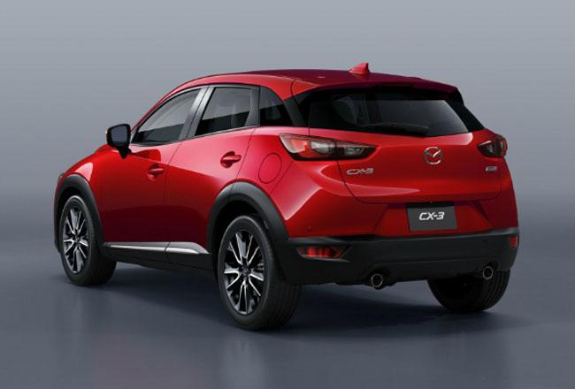 Обновленный кроссовер Mazda CX-3 2017