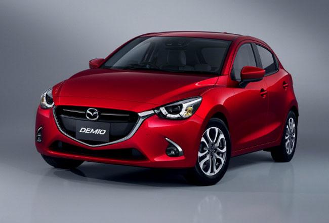 Обновленная Mazda Demio 2017 года