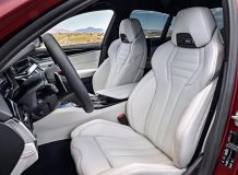 Салон новой БМВ М5 в кузове Ф90