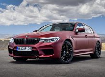 BMW M5 First Edition 2018 фото