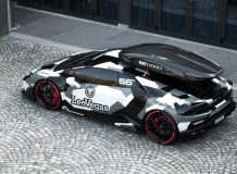 Lamborghini Huracan лыжника Jon Olsson фото
