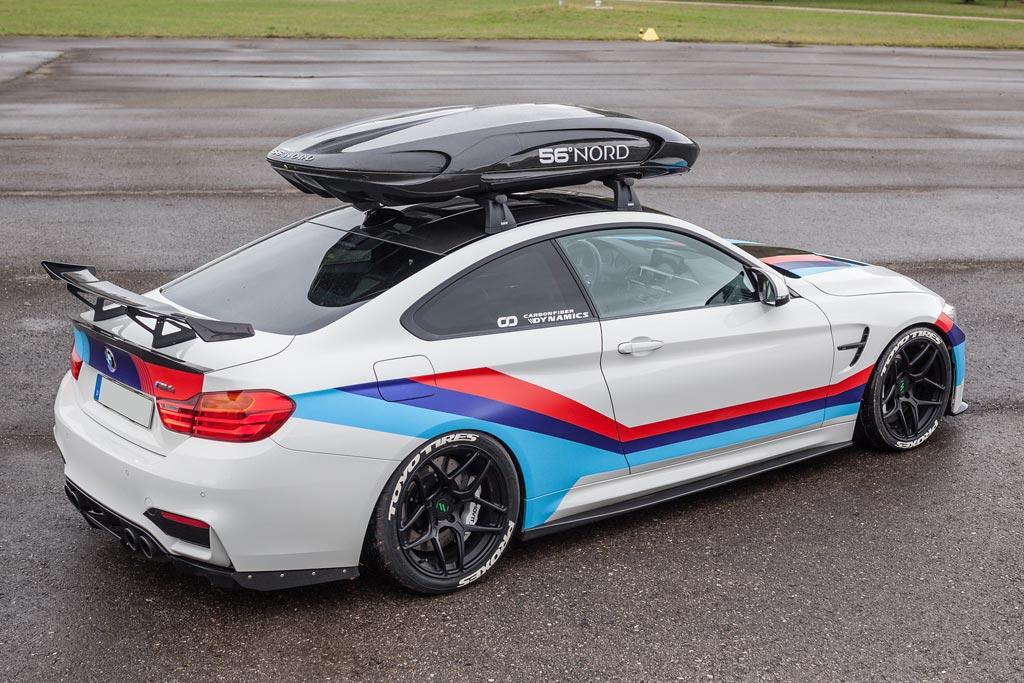 BMW M4R в обвесе от Carbonfiber Dynamics
