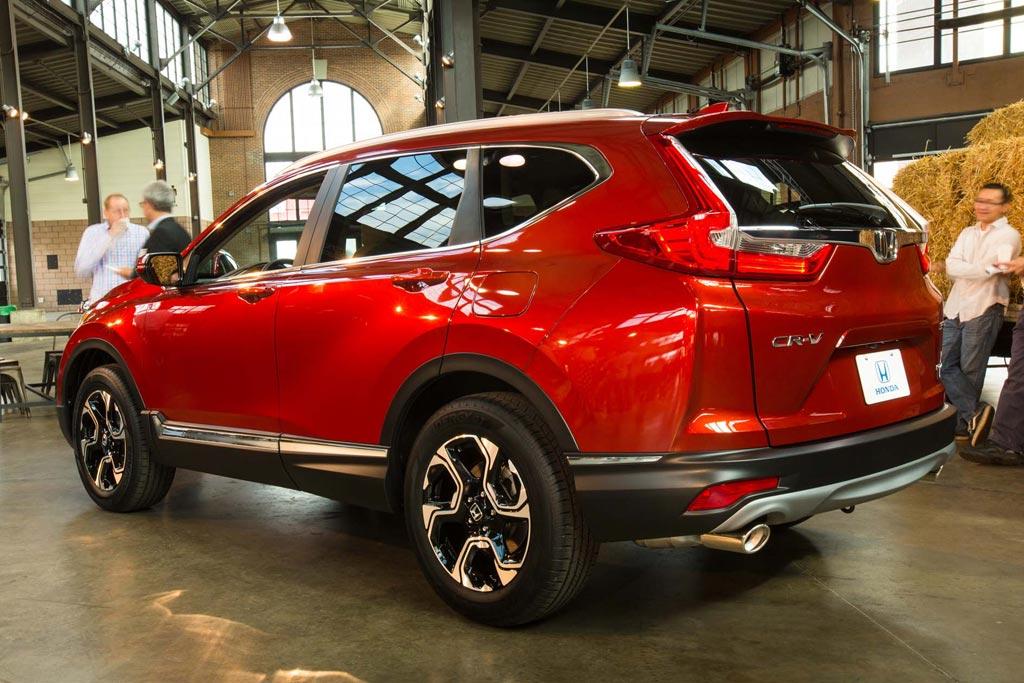 Новая Honda CR-V пятого поколения