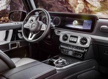 Фото салона Mercedes G-Class W464