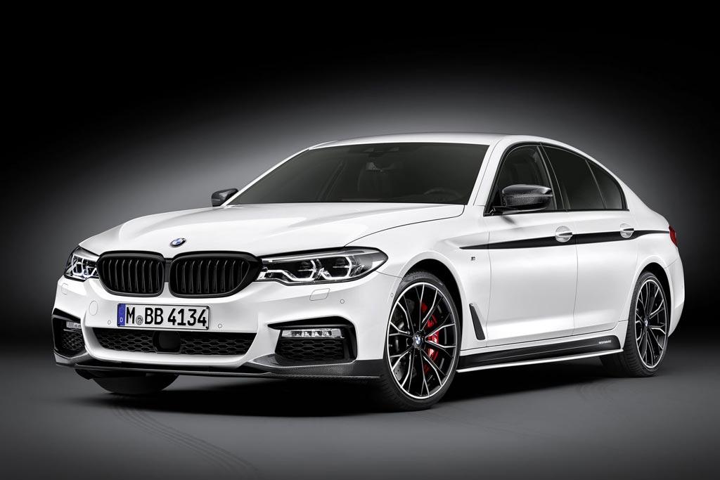 BMW 5-Series G30 в пакете M Performance