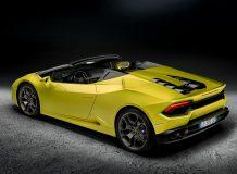 Lamborghini Huracan Spyder RWD фото