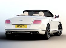 Bentley Continental GTC V8 Magenta Edition фото