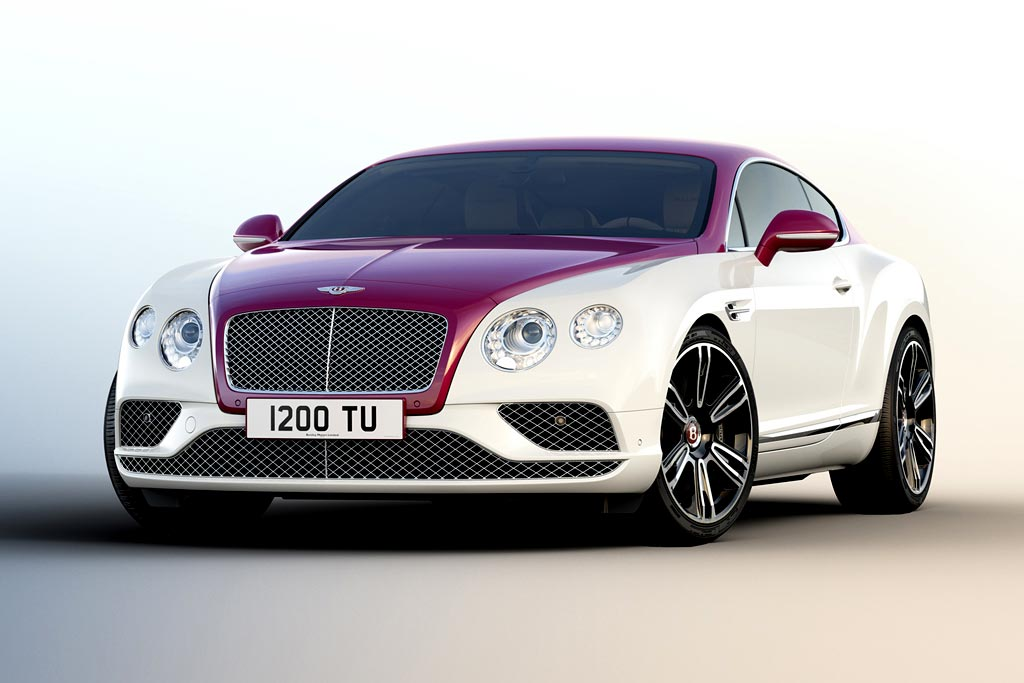 Bentley Continental GT V8 Magenta Edition