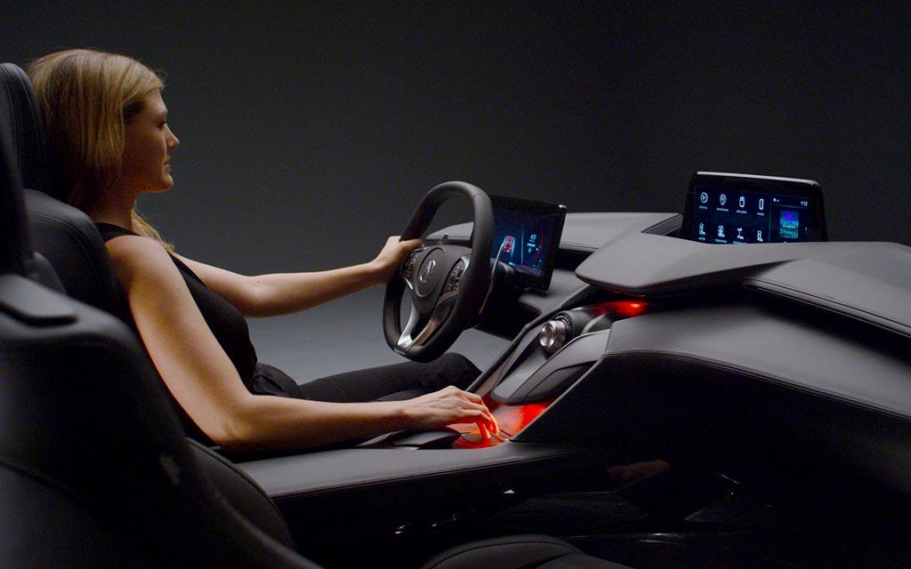 Интерьер Acura Precision Cockpit