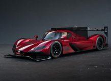 Фото гоночной Mazda RT24-P