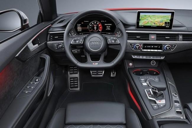 Салон Ауди S5 кабриолет II