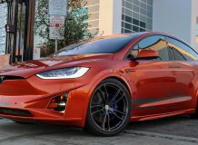 Фото тюнинг Tesla Model X от Unplugged Performance
