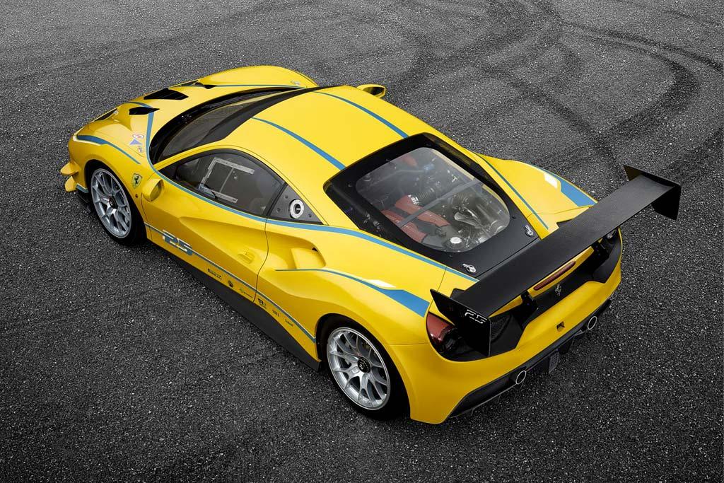 Гоночное купе Ferrari 488 Challenge