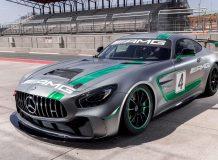 Фото нового Mercedes-AMG GT4