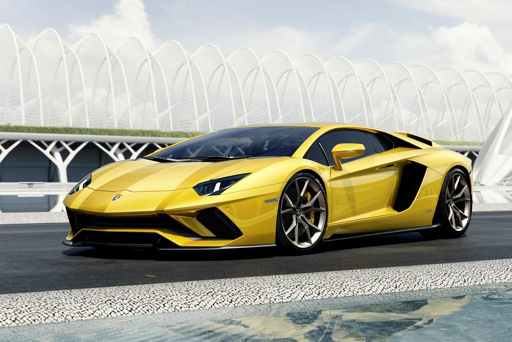Фото нового Lamborghini Aventador S