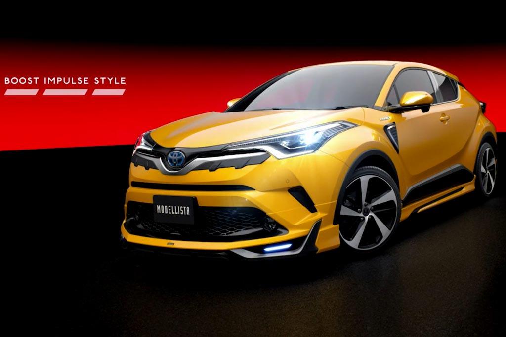 Toyota C-HR Boost Impulse Style от Modellista