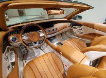 Тюнинг салона S-Class Cabrio от Carlsson фото