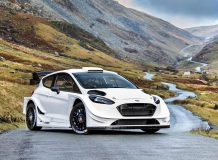 Новый Форд Фиеста WRC 2017 фото