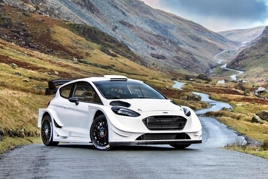 Гоночный Ford Fiesta WRC нового поколения
