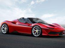 Фото нового Ferrari J50